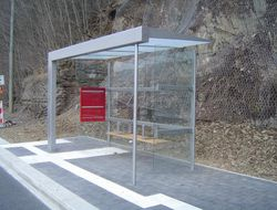 Wartehalle BUS STOP