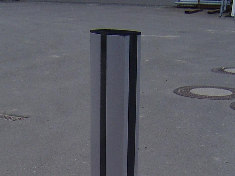 Geländer System 30 mit einfachem Deckel