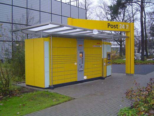 Deutsche Post - Überdachung der Packstation