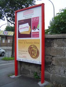 "Plakattafel Sonderanfertigung PT 3 ""System 30"""