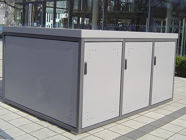fahrradboxen f r sicheres abstellen ihres fahrrads zimmermann stadtm blierung. Black Bedroom Furniture Sets. Home Design Ideas