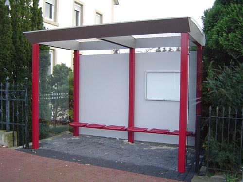 Wartehalle WHSG 53 mit 2 Seitenteilen