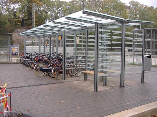 Fahrradüberdachung FH 32
